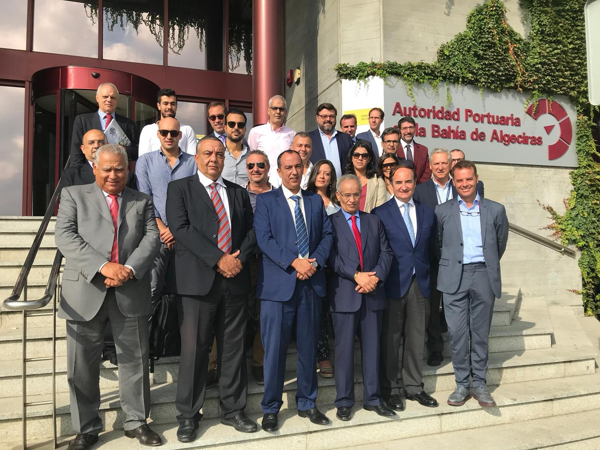 Encuentro bilateral entre el Puerto de Algeciras y Marruecos - Totallogistic