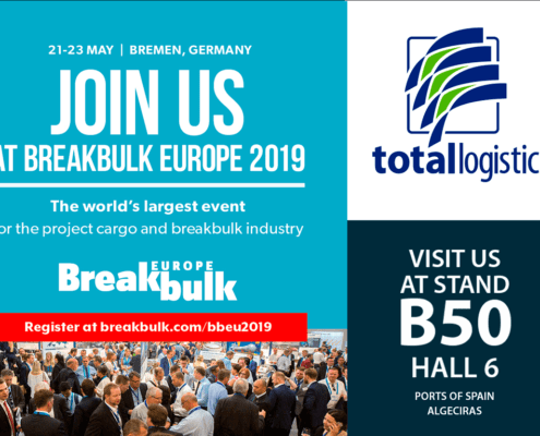 Nos vemos en la Breakbulk Europe 2019 - Totallogistic