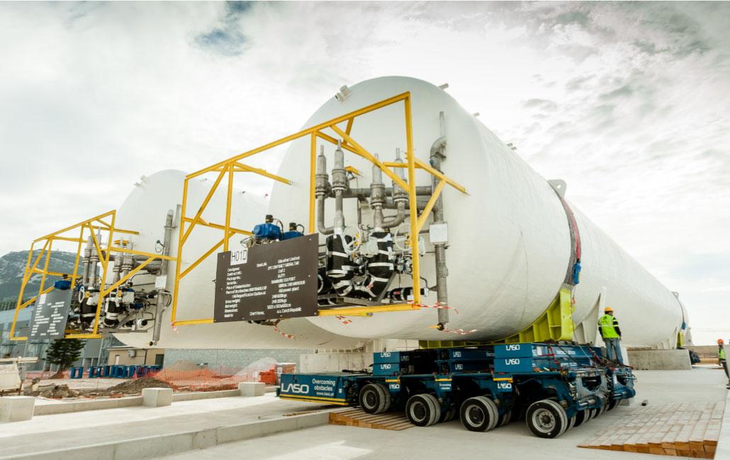 Planta LNG Gibraltar - Totallogistic